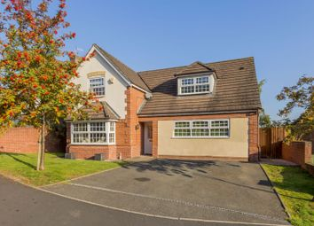 Thumbnail 4 bed detached house for sale in Vale View, Cheddleton