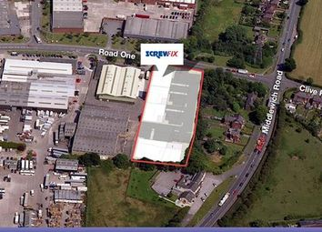 Thumbnail Light industrial for sale in Unit 4, Road One, Winsford, Cheshire