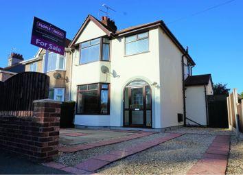 Thumbnail 3 bed semi-detached house for sale in Ffordd Derwen, Rhyl
