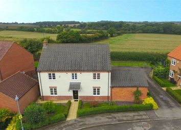 Thumbnail 4 bed detached house for sale in Long Breech, Mawsley Village, Kettering, Northants