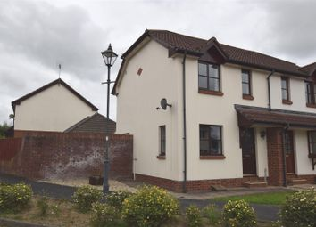 Thumbnail 2 bed semi-detached house for sale in Rooks Close, Roundswell, Barnstaple