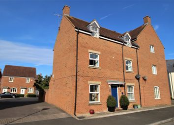 Thumbnail 4 bed town house for sale in Butleigh Road, Swindon
