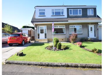 Thumbnail 3 bed semi-detached house for sale in Moray Avenue, Airdrie