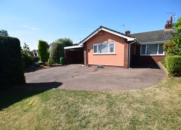 Thumbnail 2 bed semi-detached bungalow for sale in Lacon Drive, Wem, Shrewsbury