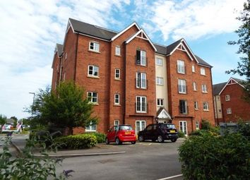 Thumbnail 2 bed flat for sale in Chamberlain Close, Uttoxeter, Staffordshire