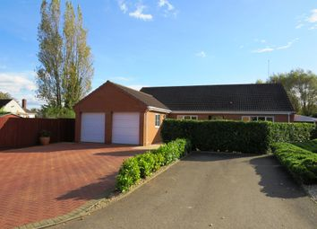 Thumbnail 3 bed detached bungalow for sale in Glebe Road, Peterborough