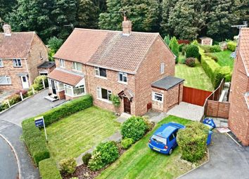 Thumbnail 3 bed semi-detached house for sale in Plantation Drive, North Ferriby
