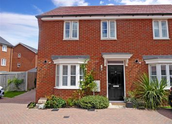 Thumbnail 3 bed semi-detached house for sale in Rosina Grove, Castle Hill, Swanscombe, Kent