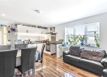 Thumbnail 2 bed flat for sale in Verdandi House, 8 Chapel Grove, Addlestone, Surrey