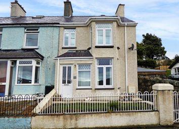 Thumbnail 2 bed end terrace house for sale in Carneddi Road, Carneddi, Bethesda, Bangor