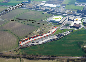 Thumbnail Land to let in Barlby Road, Selby