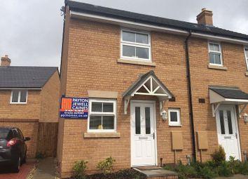 Thumbnail 2 bed semi-detached house to rent in Llys Y Dderwen, Parc Derwen, Coity, Bridgend.
