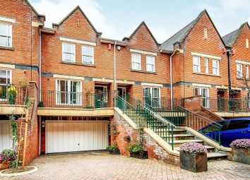 Thumbnail 4 bed terraced house to rent in Chapel Square, Virginia Water