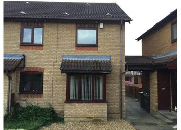 Thumbnail 2 bedroom flat to rent in Cookson Close, Peterborough