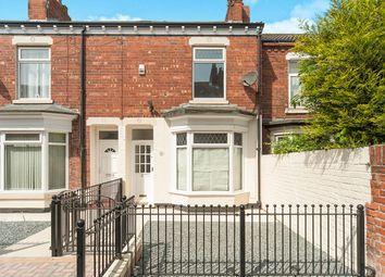 Thumbnail 3 bedroom terraced house for sale in Ivydene Villas, Estcourt Street, Hull