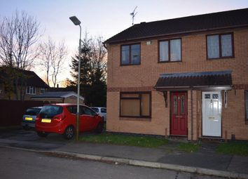 Thumbnail 3 bed semi-detached house for sale in Ellwood Close, Off Woodborough Road, Leicester