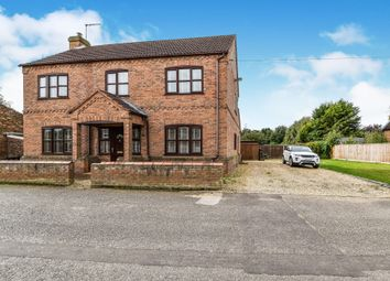 Thumbnail 3 bed detached house for sale in St Peters Road, Wiggenhall St. Germans, King's Lynn