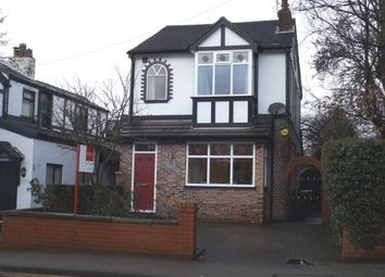 Thumbnail 3 bed detached house for sale in Mile End Lane, Mile End, Stockport, Cheshire