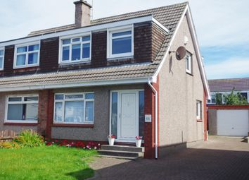 Thumbnail 3 bed semi-detached house for sale in 64 Whitlees Court, Ardrossan