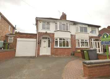 Thumbnail 3 bed semi-detached house for sale in Fancourt Avenue, Penn, Wolverhampton