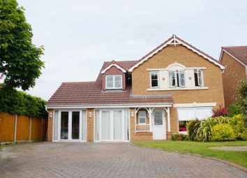 Thumbnail 5 bed detached house for sale in Westerhope Way, Widnes