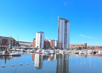 Thumbnail 1 bed flat to rent in Meridian Tower, Swansea
