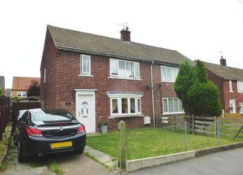 Thumbnail 2 bed property to rent in Rutland Crescent, Harworth, Doncaster
