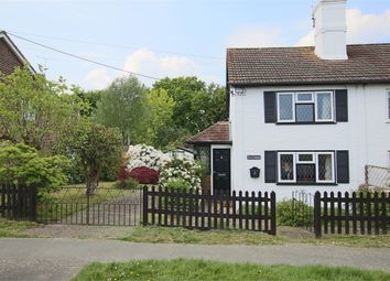 Thumbnail 2 bed semi-detached house for sale in 65 Church Lane, Copthorne, West Sussex