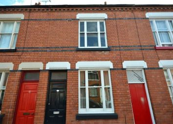 Thumbnail 2 bed terraced house to rent in Bulwer Road, Clarendon Park, Leicester