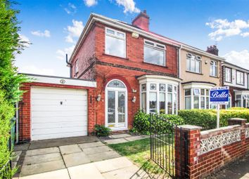 Thumbnail 3 bed semi-detached house for sale in Winchester Avenue, Grimsby