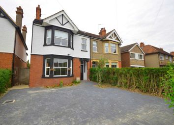 Thumbnail 4 bed semi-detached house for sale in Hill View, Newport Pagnell
