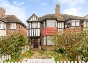 Thumbnail 3 bed semi-detached house for sale in Blakes Terrace, Motspur Park, New Malden