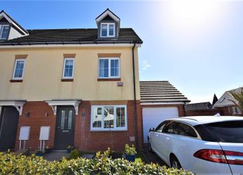 Thumbnail 3 bed semi-detached house for sale in Clos Yr Wylan, Barry