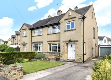 Thumbnail 3 bed semi-detached house for sale in Tranfield Avenue, Guiseley, Leeds