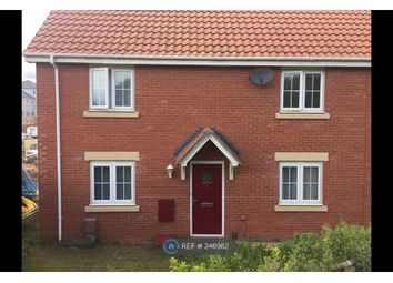 Thumbnail 3 bedroom end terrace house to rent in Grebe Court, Norwich