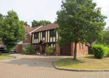 Thumbnail 5 bedroom detached house for sale in Buttermere Drive, Camberley
