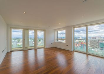 Thumbnail 3 bedroom flat for sale in Talisman Tower, Lincoln Plaza, London