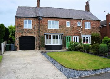 Thumbnail 3 bedroom semi-detached house for sale in The Fir Trees, Thorpe Willoughby