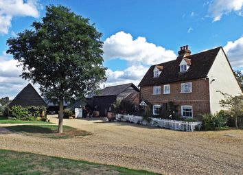 Thumbnail 5 bed equestrian property for sale in Thistley Lane, Gosmore, Hitchin