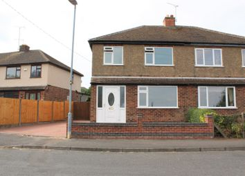 Thumbnail 3 bedroom semi-detached house for sale in Millhouse Estate, Thringstone, Coalville