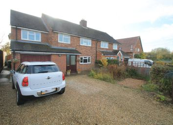 Thumbnail 4 bed semi-detached house for sale in Carrington Close, Dunton, Buckingham, Buckinghamshire