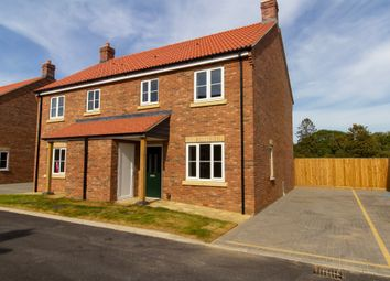 Thumbnail 3 bedroom semi-detached house for sale in Magdalen Road, 11 Orchard Close, Tilney St. Lawrence, King's Lynn