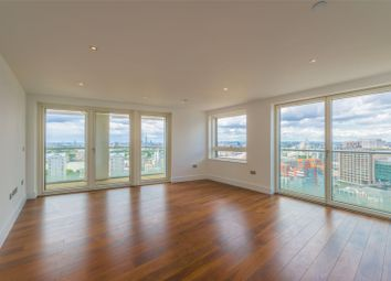 Thumbnail 3 bedroom property for sale in Talisman Tower, Lincoln Plaza, London