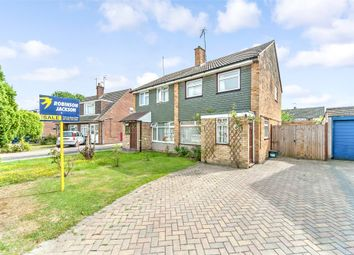 Thumbnail 3 bed semi-detached house for sale in Priestley Drive, Tonbridge, Kent
