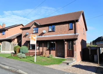 Thumbnail 3 bed semi-detached house for sale in Bramblewood Close, Gonerby Hill Foot, Grantham