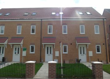 Thumbnail 3 bed town house to rent in Wingate Way, Ashington