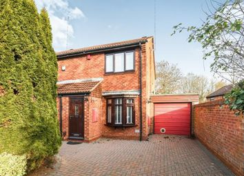 Thumbnail 2 bed semi-detached house for sale in Avonbank Close, Walkwood, Redditch, Worcestershire