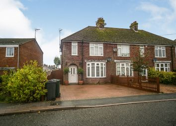 Thumbnail 3 bed end terrace house for sale in Canterbury Road, Willesborough, Ashford