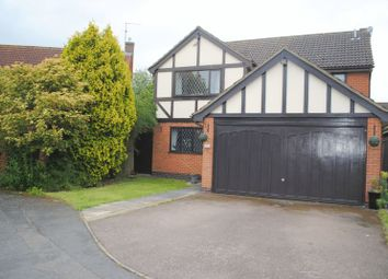 Thumbnail 4 bedroom detached house for sale in Tintagel Close, Rushden