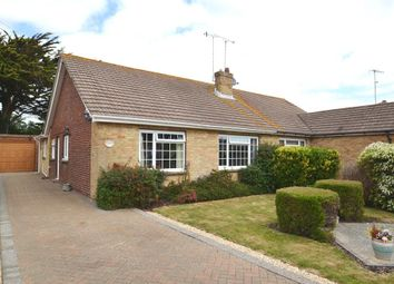 Thumbnail 3 bed semi-detached bungalow for sale in Windemere Crescent, Goring By Sea, West Sussex